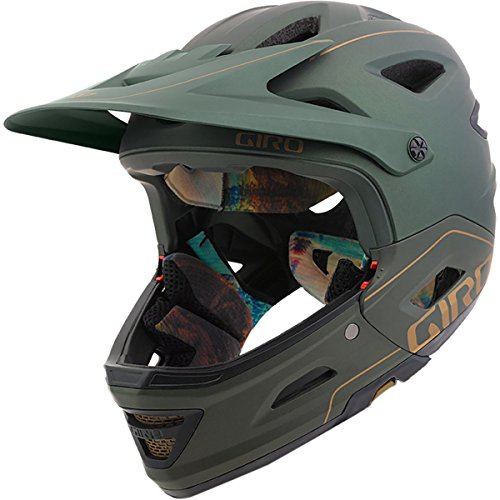 Giro Switchblade MIPS MTB Helmet Matte Olive Small (51-55 cm) - Small Switchblade Automatic Knife