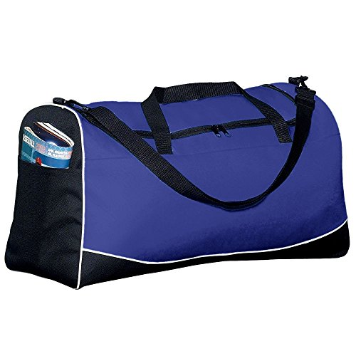 Large Tri-Color Sport Bag - Purple (Color Tri Sport Bag)