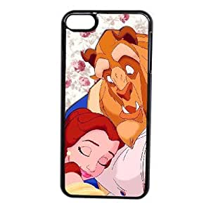 Generic Fashion Hard Back Case Cover Fit for iPod touch 6 case black Beauty and the Beast FEW-7897945