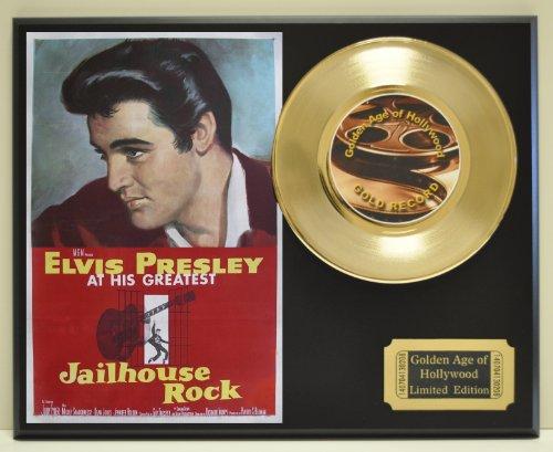 Elvis Presley Gold Record - Elvis Presley in
