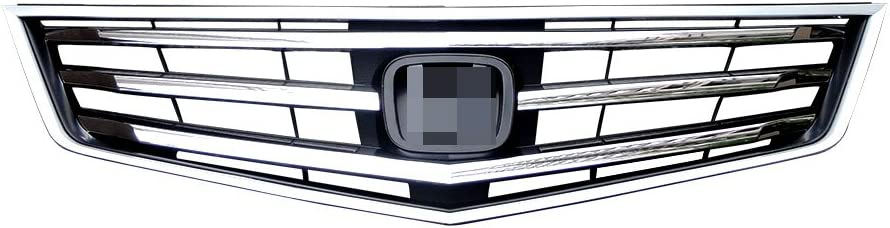1Pcs Front Bumper Upper Hood Grille Chrome Grill For Honda Accord 2009-2010