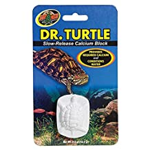 Zoo Med Laboratories SZMMD11 Dr Turtle Slow-Release Calcium Block, 5-Ounce