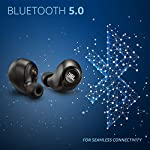 JBL C105TWS by Harman True Wireless in-Ear Headphones with 17 Hours Playtime (5 Hrs on Earbuds, 12 Hrs in Case), Quick…