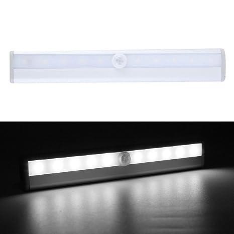 6000 – 6500 K frío blanco 10-LED IR Sensor de infrarrojos Detector de movimiento