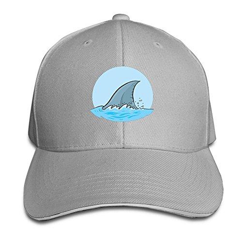 SHARK FIN Cool Baseball Fitted Cap (Cowgirl Cuisine)