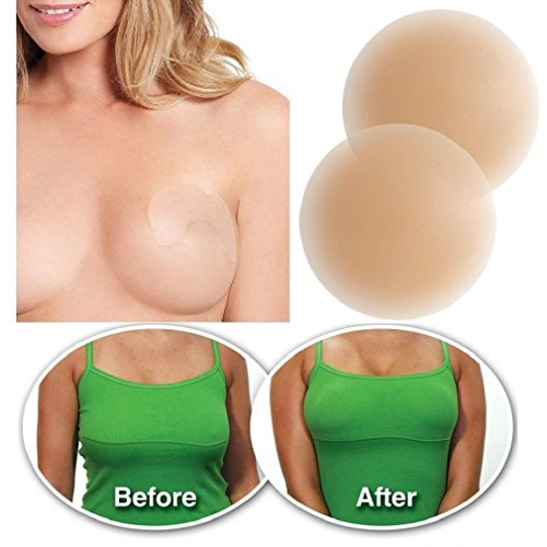 a2d84041e Reusable Pasties Invisible Silicone Nipple Covers With 10 PACK Instant  Breast Lifts - Buy Online in Kuwait.