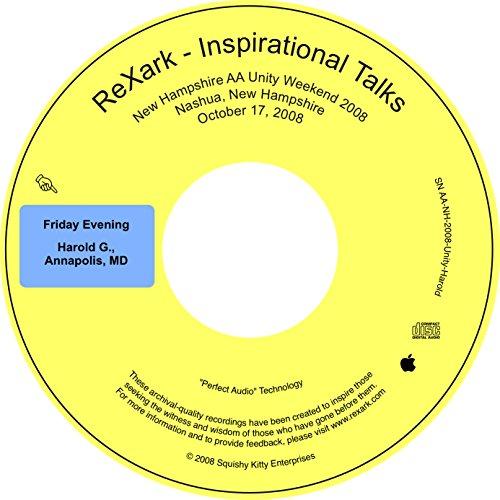 Family Unity Medallion - Harold G., Annapolis, MD, Past Trustee, Historian, AA Unity Weekend, NH 2008 (ReXark Inspirational Talks)