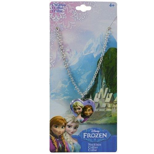 Disney Frozen Metal Locket Heart Necklace (Locket Disney)