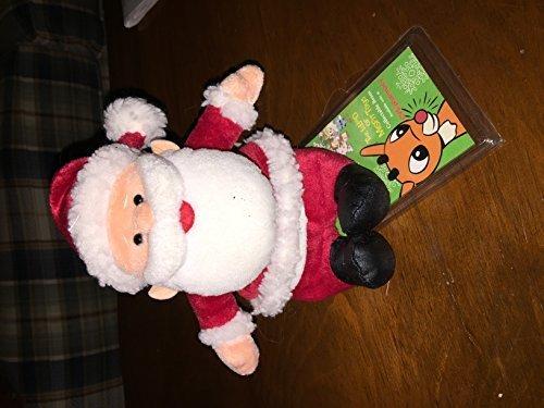 rudolph-island-of-misfit-toys-7-plush-santa-claus-cvs-bean-bag-from-1998