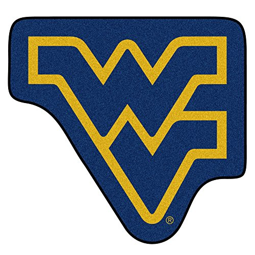(Fan Mats West Virginia Mountaineers Mascot Area Rug)