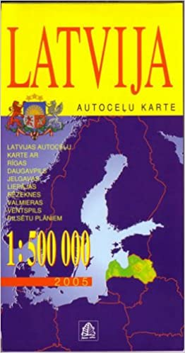 Latvia 2005 (Road Maps)