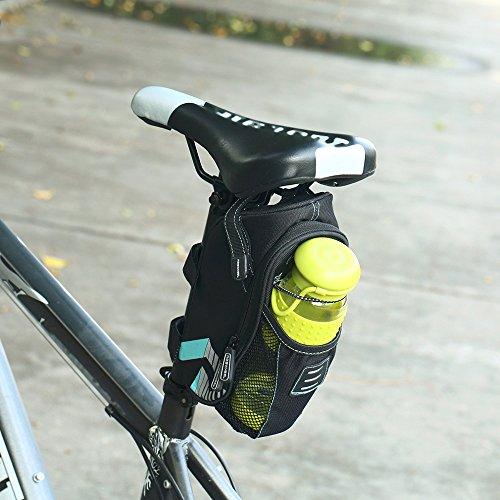 Coteetci Mountain Bike Saddle Bag Mtb Bicycle Saddle Bag Tail Bag