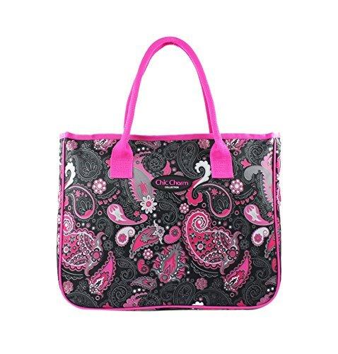 jacki-design-chic-charm-tote-travel-bag-pink