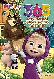 Masha e o Urso - 365 atividades e desenhos para colorir