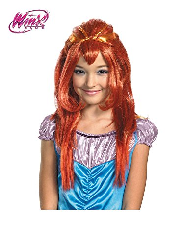 Winx Club Bloom Wig, Red -