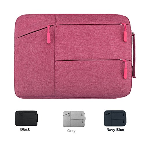 11-12-inch-nylon-repellent-laptop-sleeve-case-bag-with-handle-and-zipped-pockets-for-macbook-air-11-