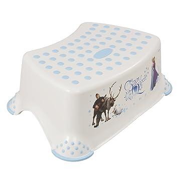 Keeeper Frozen Kinder-Toilettensitz mit Anti-rutsch-Funktion weiß