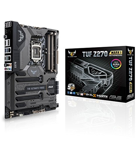 ASUS TUF Z270 Mark 1 LGA1151 DDR4 DP HDMI M.2 USB 3.1 Z270 ATX ()
