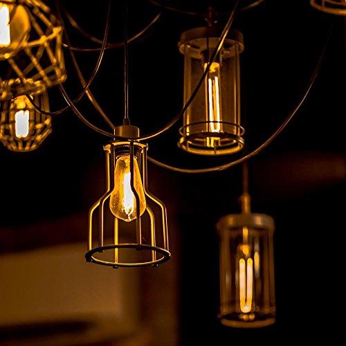 edison bulb nalakuvara 60w filament long life vintage antique import it all. Black Bedroom Furniture Sets. Home Design Ideas
