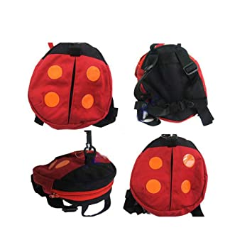 Ogquaton Bolsa anti-perdida para bebés Mochila de seguridad para niños pequeños Mochilas antibalas Paquete para niños Correas de seguridad con cordones ...