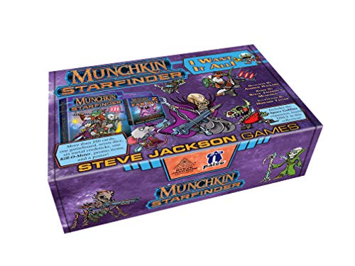 Steve Jackson Games SJG4476 Munchkin Starfinder I Want It All Games
