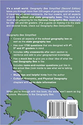 Geography Bee Simplified: Every Kid's Guide to the School and ...