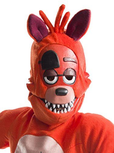 Rubie's Costume Boys Five Nights at Freddy's Foxy The Pirate 3/4 Mask Costume, One Size -