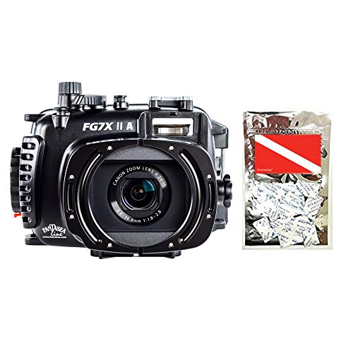 Fantasea FG7X II A M16 Housing Compatible with Canon G7 X Mark II Camera Packaged by DiveCatalog