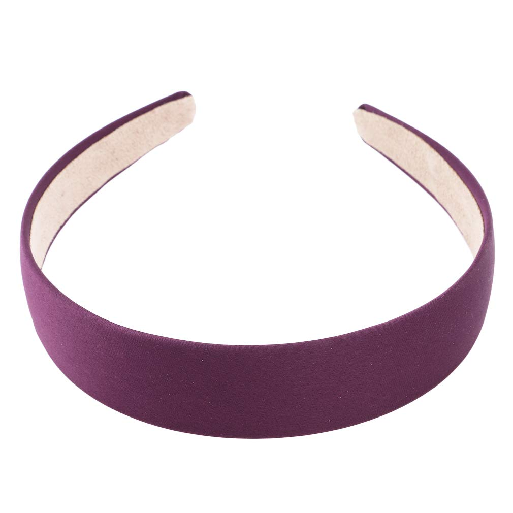 Details about  /Headband Hair Band Width 3.0 cms Wide Satin Padded All Cloth Card Alice Band