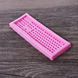 Junlinto 3D Silicone Mold Mini Keyboard Shape