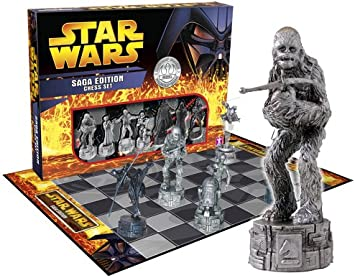 Star Wars Saga Edition Chess Set: Amazon.es: Juguetes y juegos