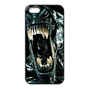 iphone5 5s case , Alien iphone5 5s Cell phone case Black-YYTFG-17627