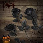 Yebazy-10Pcs-Black-Artificial-Flowers-Roses-Bouquets-165-Inch-Real-Looking-Black-Fake-Rose-Halloween-Wedding-Party-Home-Garden-Dcor