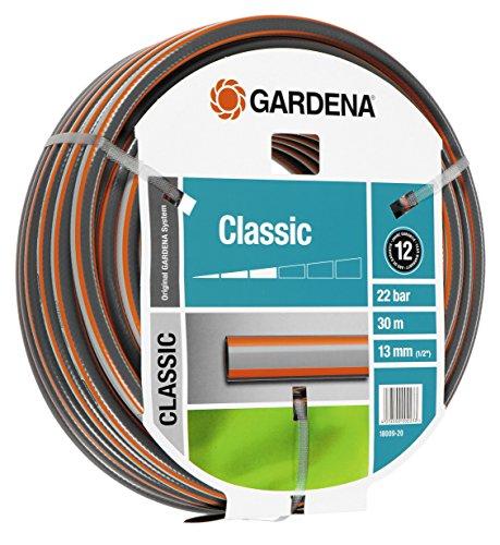 Gardena Classic Schlauch, 13 mm, 1/2 Zoll, 30 m ohne Systemteile, 18009-20