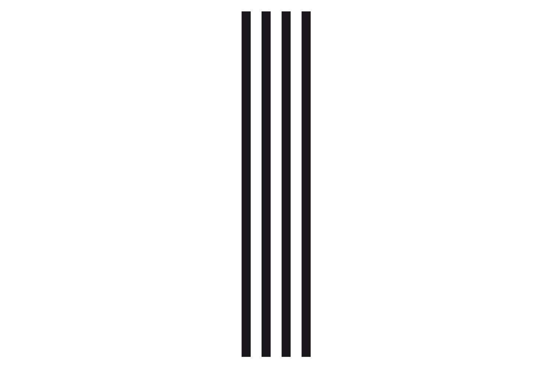 universumsum Wandtattoo Bordüre Lines grau 50 x 250 cm wal056-50-071 Wandaufkleber Wandsticker Wandtattoo Wohnzimmer Schlafzimmer selbstklebend