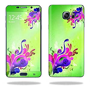 MightySkins Protective Vinyl Skin Decal for Samsung Galaxy Note 5 wrap cover sticker skins Pastel Flourish