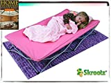 Portable Toddler Bed Cot Travel Kids Camping Folding New Baby Child Regalo Pink New Guarantee – It Comes Only with Our Company's Unique Ebook