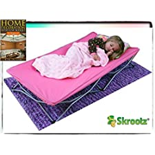 Portable Toddler Bed Cot Travel Kids Camping Folding New Baby Child Regalo Pink Guarantee By