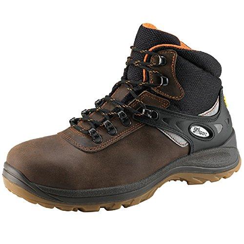 Grisport GRS550–43Trento stivali di sicurezza, misura: 43, marrone (confezione da 2)