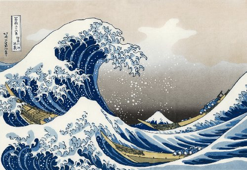 Hokusai The Wave 1000 Piece Jigsaw - Waves 1000