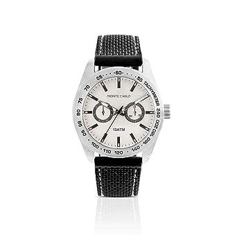 72bfb90eac3 Relógio Monte Carlo Masculino em Silicone Preto  Amazon.com.br ...