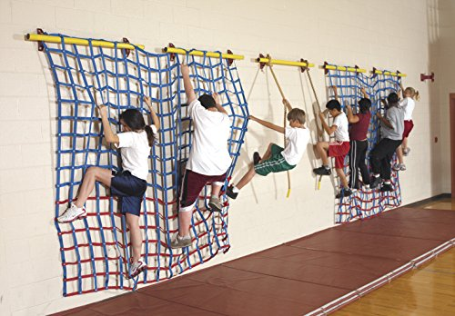 School Specialty Climbing Web Mat, 9 x 8 feet, Nylon by School Specialty (Image #1)