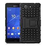 Xperia Z3 Compact Case - ALLIGATOR Heavy Duty Rugged Back Cover for Sony Xperia Z3 Compact, Black
