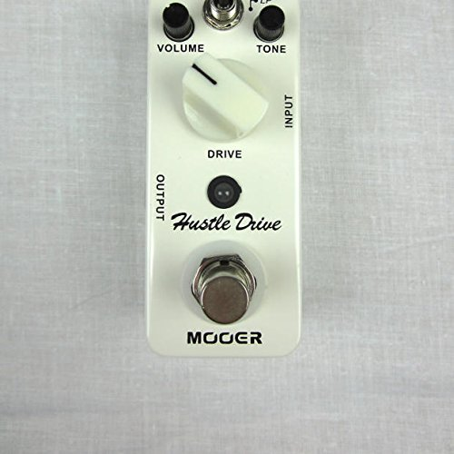 Mooer Hustle Drive Distortion Guitar Effect Pedal w/Patch Cable