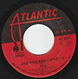 45vinylrecord And You And I (Part 1 & 2) (7