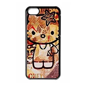 Hello Kitty iPhone 5c Cell Phone Case Black GXO