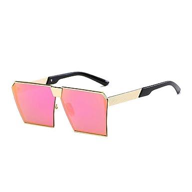 8fb205afb2 Sunglasses Women Men Oversized Square Sunglasses UV400 Gradient Vintage  Brand Designer Eyeglasses Frames Rimless Glass (