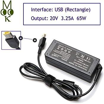 Amazon.com: 20V 3.25A 65W USB AC Laptop Charger for Lenovo ...