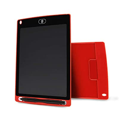sholdnut 8.5inch Kids Mini LCD Writing Pad Tablet Drawing Memo Board with Handwriting Pen for Writing, Painting (Red) : Baby