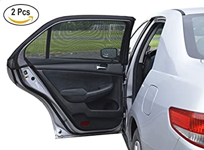 A1 Rear Side Window Sun Shade for Baby Car Door 2pc